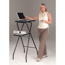 PROJECTOR STAND - MULTI-MEDIA 2 PLATFORMS, FOLDABLE