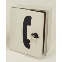 TELEPHONE CABINET - SMALL PLAIN STONE COLOUR
