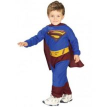 Disfraz Superman Returns Para Bebé Original - Talla - 6-12 Meses