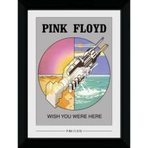 Poster Emoldurado GB Posters Pink Floyd Wish You Were Here (30 mm Preto) 50 x 70 cm