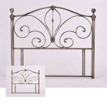 Birlea Akita 4FT 6 Double Metal Headboard
