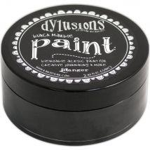 Dylusions Blendable Acrylic Paint 2oz - Black Marble