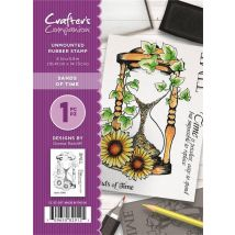 Crafter's Companion A6 Rubber Stamp - Sands of Time