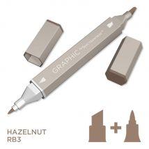 Graphic by Spectrum Noir Single Pens - Hazelnut