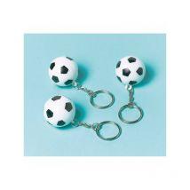 Lot de 12 porte-clés Football