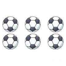 12 Mini photo comestible  Ballons de foot