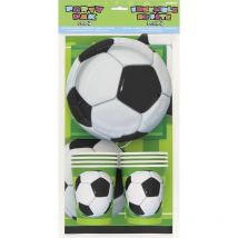 Kit Anniversaire 8 personnes Football