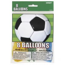 Lot 8 Ballons Football en latex
