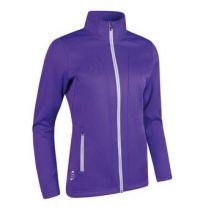 Sunderland Nova Ladies Lightweight Fleece Jacket - Purple