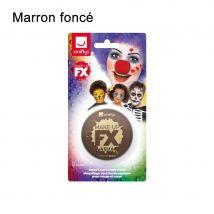 Maquillage à l'eau de 16ml, visage et corps (Marron foncé)