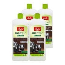 Melitta Anti-Calc Bio liquid descaler Multi-use Pack of 4 x 250ml bottle