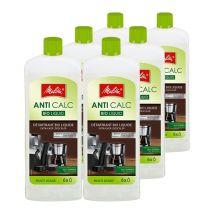 Melitta Anti-Calc Bio Liquid Descaler Multi-use Pack of 6 x 250ml bottle