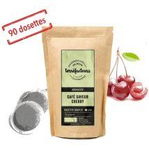 Coffee pods - Cherry flavour - x90 - Les Petits Torréfacteurs