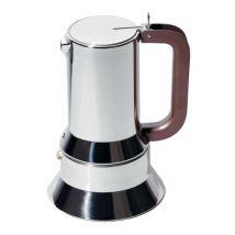@9090 Alessi 3-cup moka pot designed by Richard Sapper
