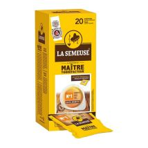 20 dosettes ESE Maître Torrefacteur n°1 - La Semeuse - 100% Arabica