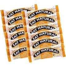 12 Barres gourmandes abricot, amande et yaourt - Eat Natural - 600.0000 g