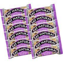12 Barres gourmandes noix du Brésil, raisins, amandes et noisettes - Eat Natural - 600.0000 g
