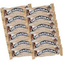 12 Barres gourmandes Café & Chocolat - Eat Natural - 600.0000 g