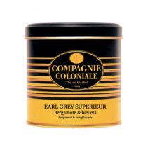 Luxury Earl Grey Supérieur Black Tea - 120g loose leaf tea in tin - Compagnie Coloniale - China
