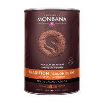Chocolat en poudre Salon de Thé 1kg - Monbana - 1000.0000 g