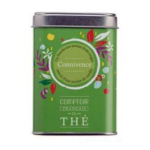 Comptoir Français du Thé 'Connivence' Fruity Green Tea - 100g loose leaf in tin - Japan