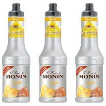 Lot de 3 Smoothies Fruit de Monin - Mangue - 3 x 50 cl - 50.0000 cl