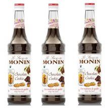 Monin - Lot de 3 Sirops Monin - Chocolate Cookie - 3 x 70cl - 118346