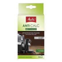 Melitta Anti-Calc Bio descaler for automatic coffee machines - 4x40g powder sachets - Biodegradable
