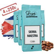 Coffee beans: Cuba - Sierra Maestra - 1kg - Cafés Lugat - Cuba