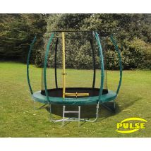 8ft Pulse Green trampoline
