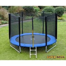 10ft Supernova Blue trampoline