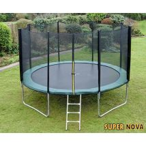 14ft Supernova Green trampoline