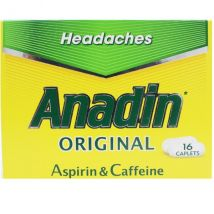 Anadin Original Caplets - 16 Caplets