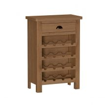 Rosewell Natural Oak Wine Cabinet