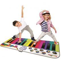 Rainbow Colours Giant Piano Mat