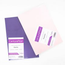 Crafter's Companion Centura Pearl 80 Sheet A4 Card Pack Bundle - Pastels & Darks