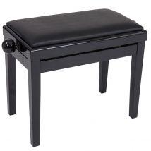 Kinsman Adjustable Piano Bench - Satin Black
