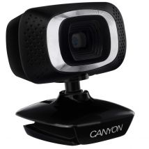 Canyon 720HD Webcam with 360 Degree Rotary View & USB 2.0 Connection