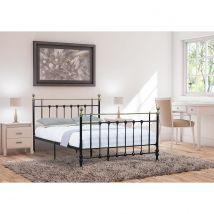 Madison Double Bed Frame - Black
