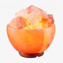 Illuminative Himalayan Salt Lamp Bowl Shape - Multi