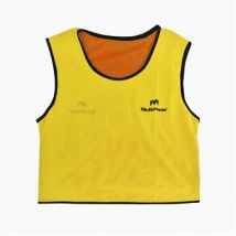 Mc Keever Reversible Bibs (Youth 16-18 Years/Ladies) - Yellow/Orange