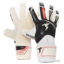 Precision Training Fusion Scholar Gaelic Goalkeeper Gloves - Youth - White/Black
