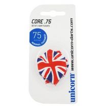 Unicorn Core 75 Dart Flights - Pack of 3 - Union Jack
