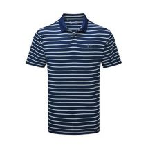 Under Armour Performance Polo 20 Divot Stripe Tee - Mens - Academy/Ambrosia/Pitch Grey
