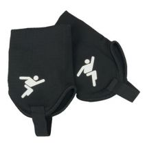 Precision Training Ankle Protectors - Youth - Black