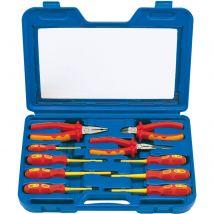 Draper Expert 10 Piece Insulated Plier & Screwdriver Set