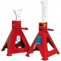 Sealey Easy Action Ratchet Axle Stands 10 Tonne