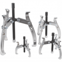 Sealey AK79 4 Piece Triple Leg Gear Puller Set