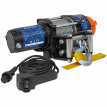 Sealey Recovery Winch 1135kg Pulling Capacity 12v