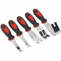 Sealey 5 Piece Door Panel and Trim Clip Removal Tool Kit
